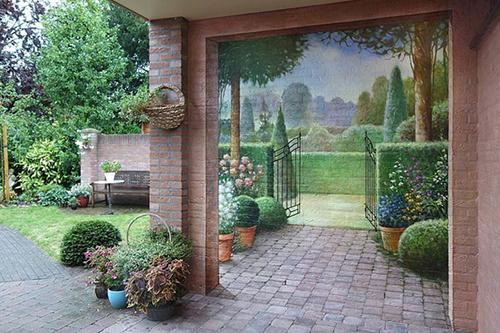 роспись стен в интерьере цена симферополь