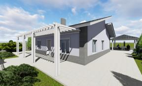 Архитектурный проект и дизайн интерьера коттеджа для инвалидов
